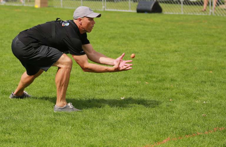 Williment Travel NZ Egg Throwing & Catching Championship