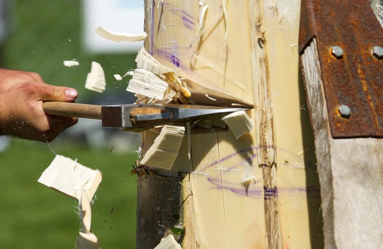 ANZAXE Wood Chopping Championship