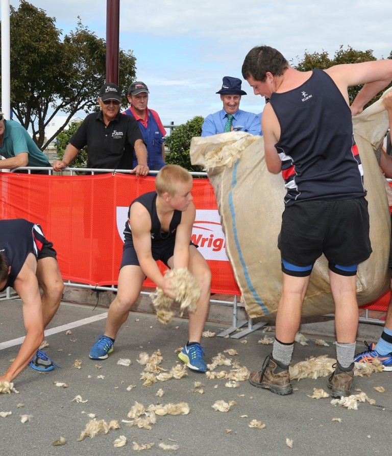 Wool Fadge Race